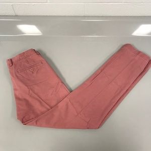 J. Crew Mens Grapefruit 'Broken-In' Chino 29W 32L